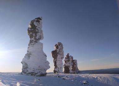 Снегоходное путешествие к плато Маньпупунер