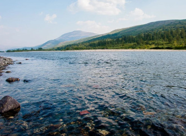 Сплав по реке Собь