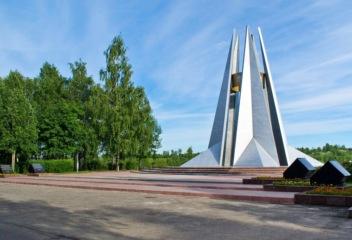 Мемориальный комплекс в Ухте