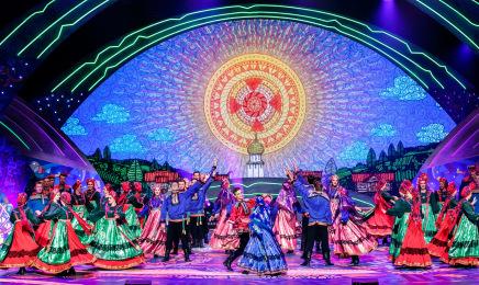 Гала-концерт Дней культуры Усть-Вымского района в г. Сыктывкаре
